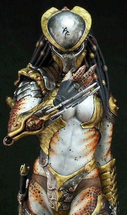 Female predator cosplay update
