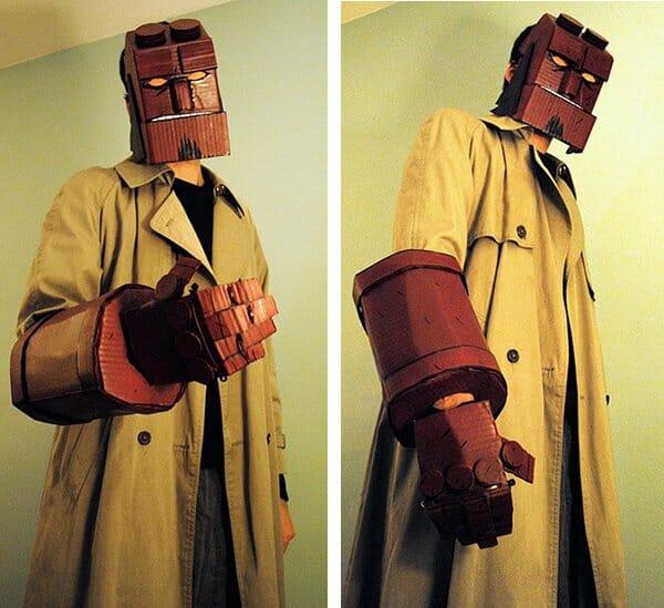 Cardboard-Hellboy-Cosplay