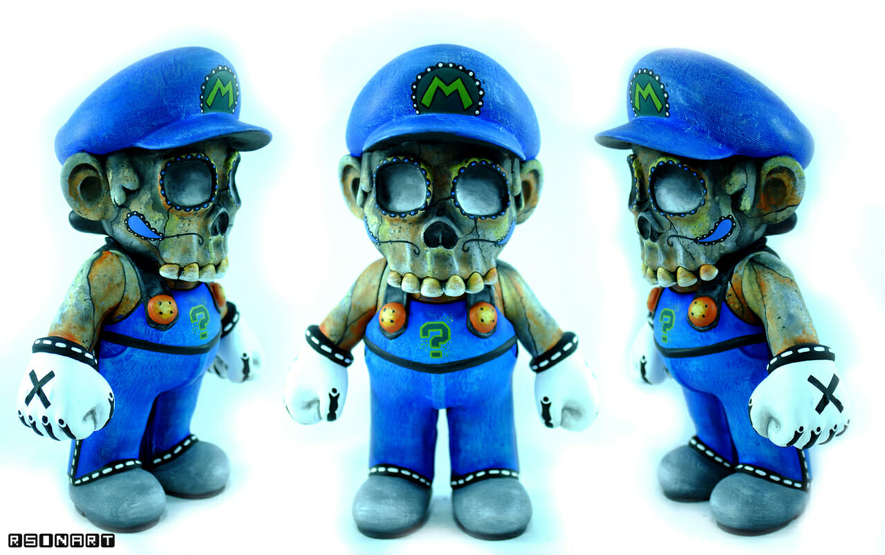 Day of the Dead Mario 3
