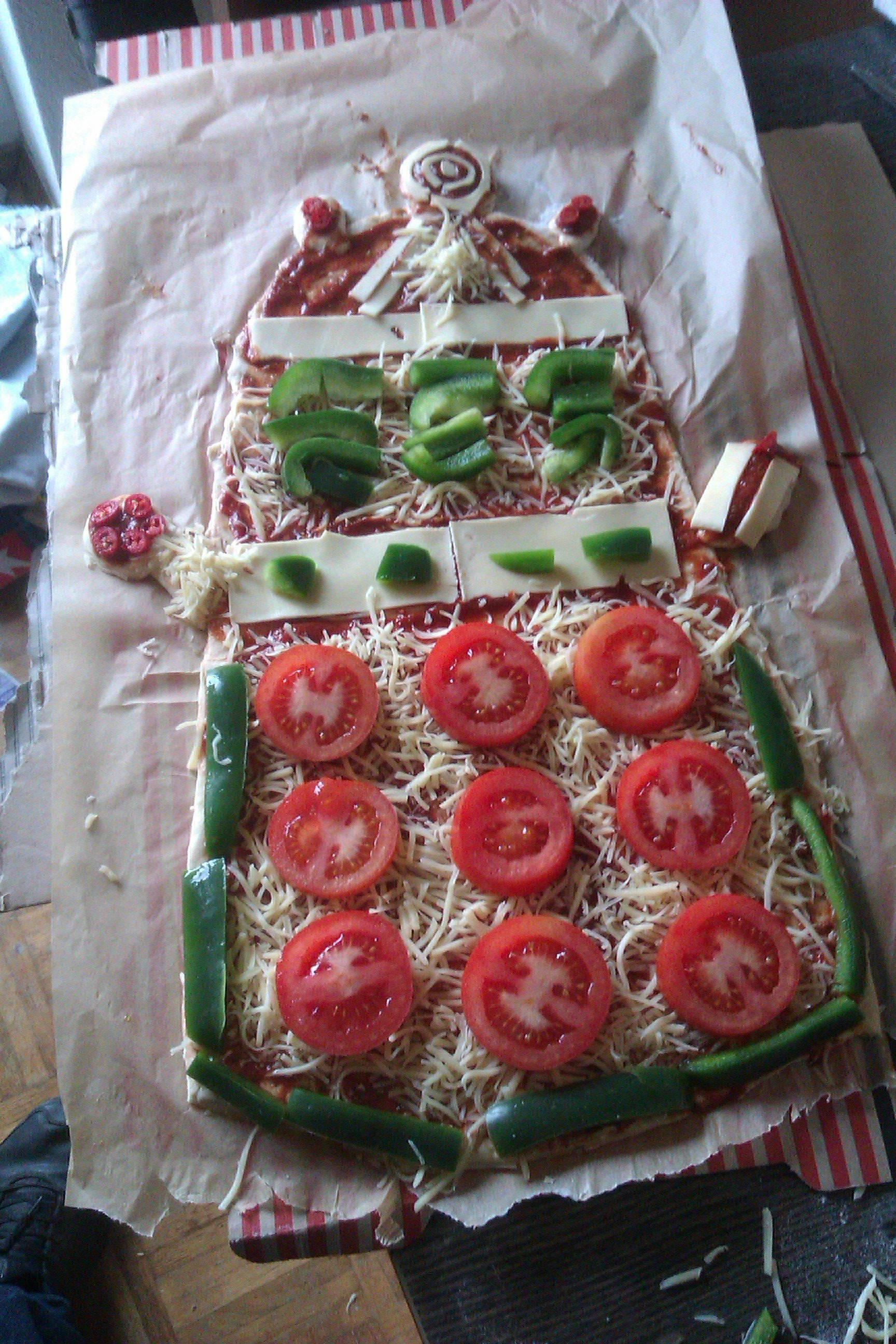 Pizza Dalek