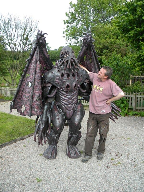 cthulhu costume outdoor