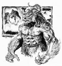 Click to enlarge thumbnail of the Flesh Minotaur