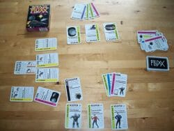 A game of Star Fluxx in progress