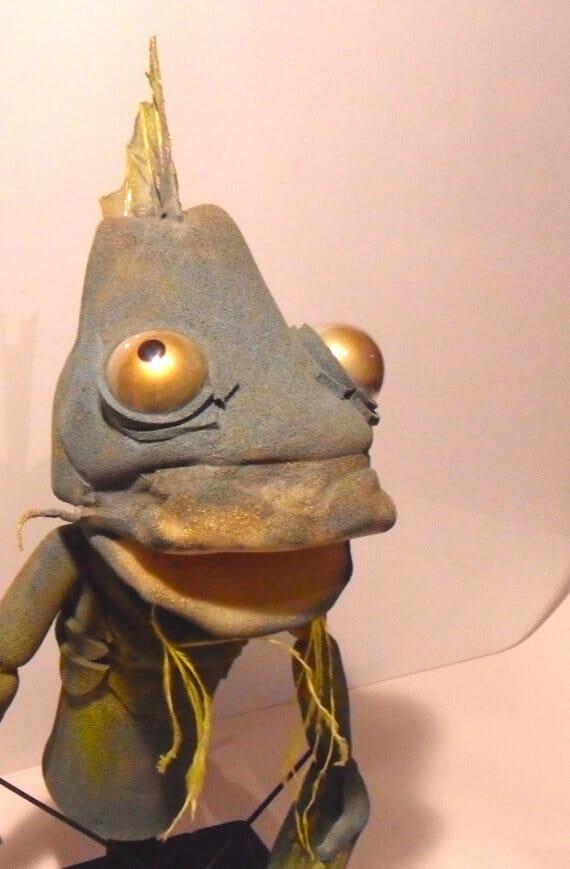 Cthulhu Fish Puppet