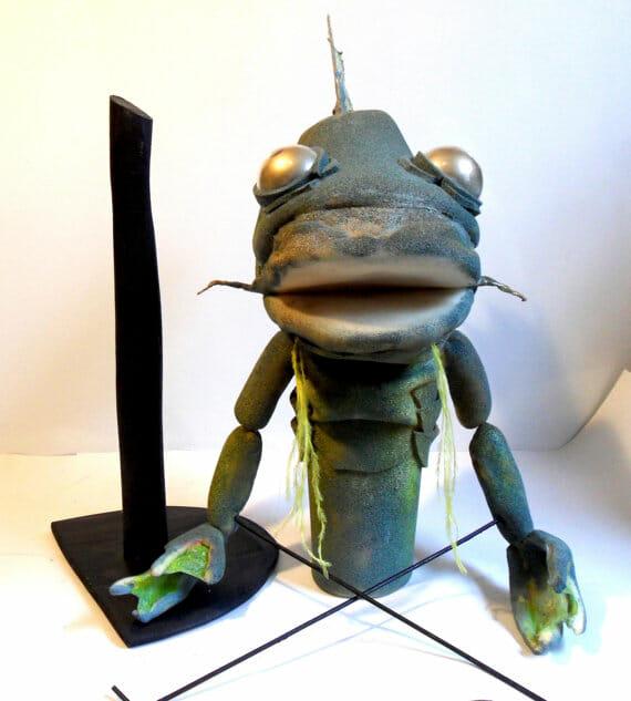 Cthulhu Fish Puppet 2
