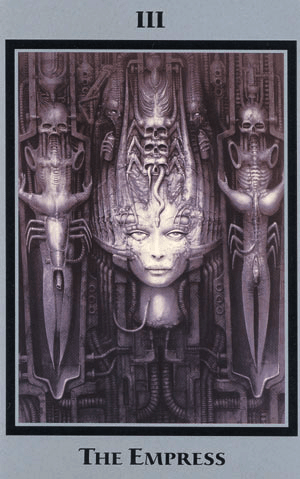 H.R Giger Baphomet Tarot of the Underworld Cards Occult