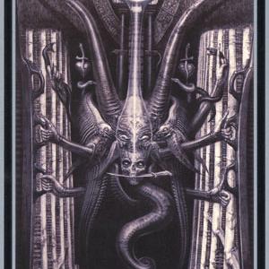 tarot of the underworld. | Badass art, Hr giger art