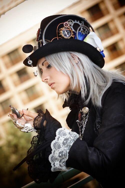 steampunk hat cosplay