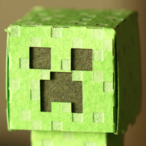 How to Make an Easy Creeper Craft | 600x600