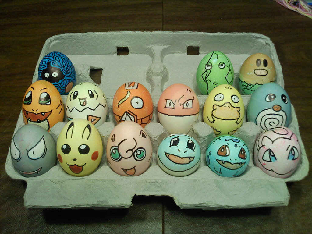 Pokemon Easter eggs 1