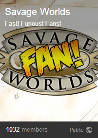 Savage worlds fans