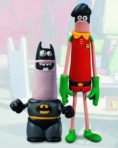 Aardman Batman and Robin