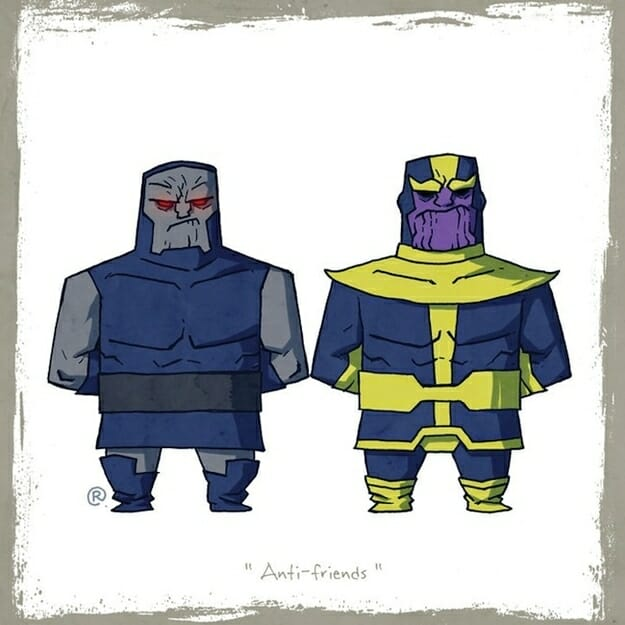 Darkseid and Thanos