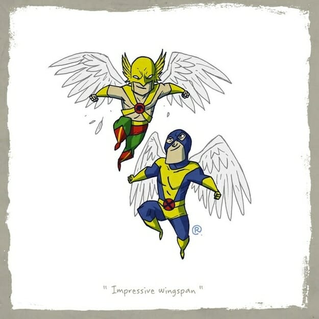 Hawkman and Angel