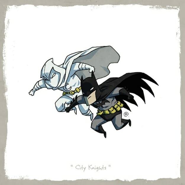 Moon Knight and Batman