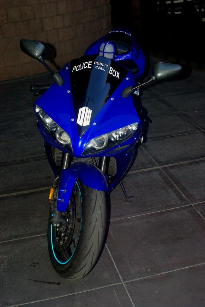 TARDIS motorcycle 3