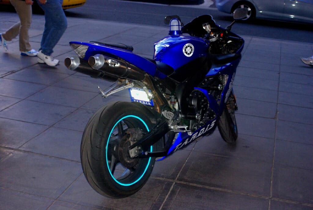 TARDIS motorcycle 4