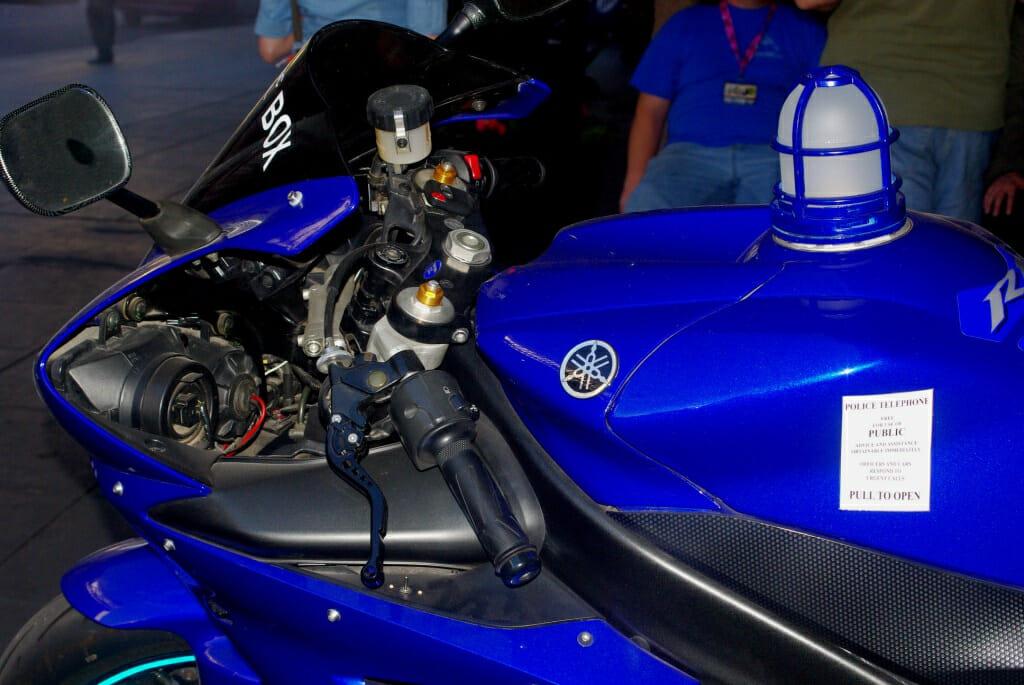 TARDIS motorcycle 7