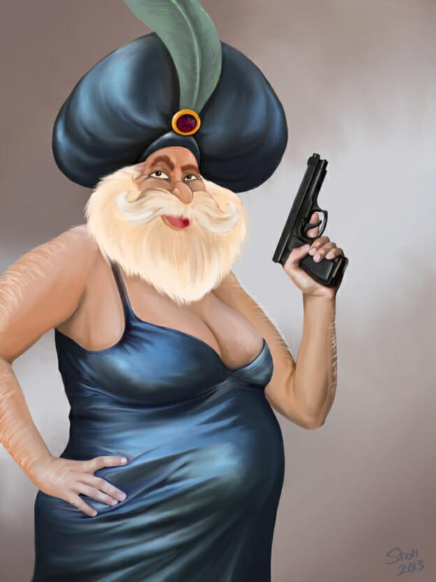 The Sultan as Black Widow