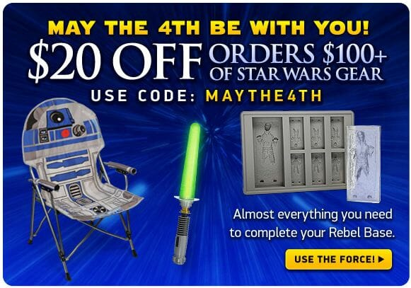 Think Geek May4 coupon