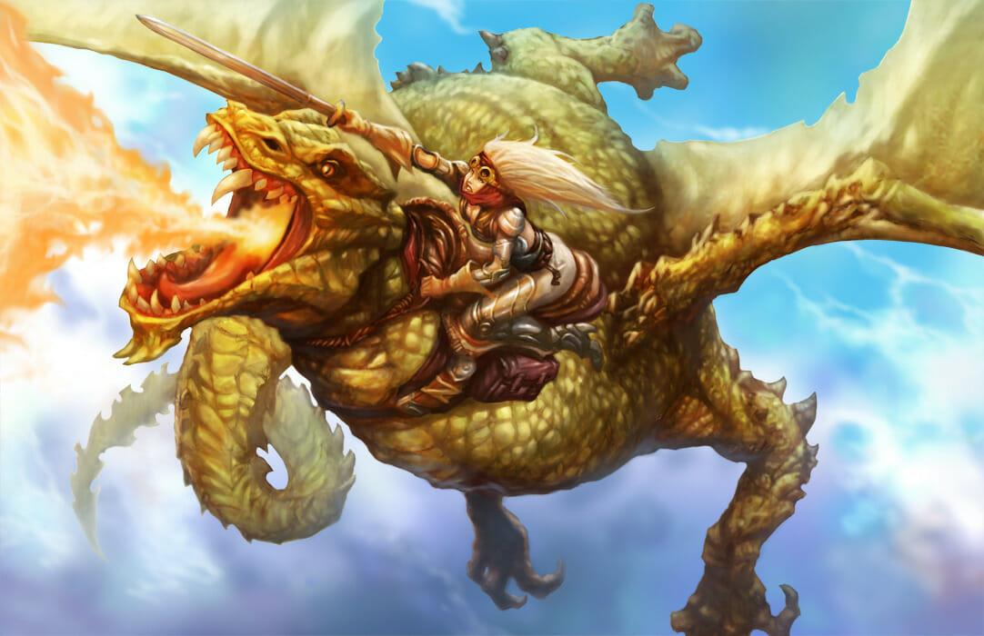 Dragon Rider by Alex Lopez