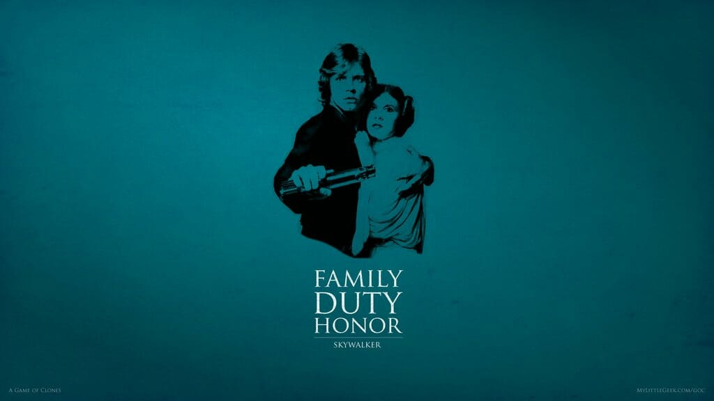 Family Honour Duty - Skywalker