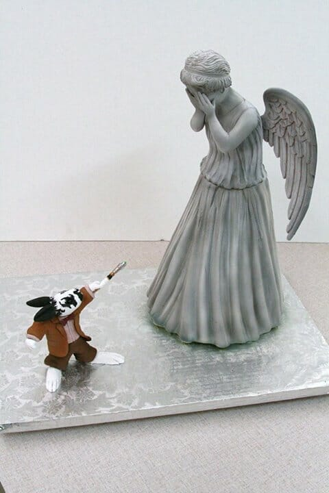 pet rabbit vs angel