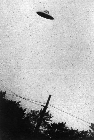 Purported UFO sighting
