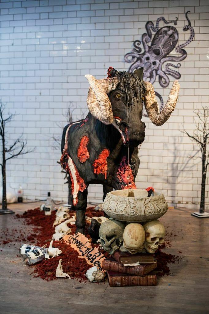 Devil Cake Horse 6