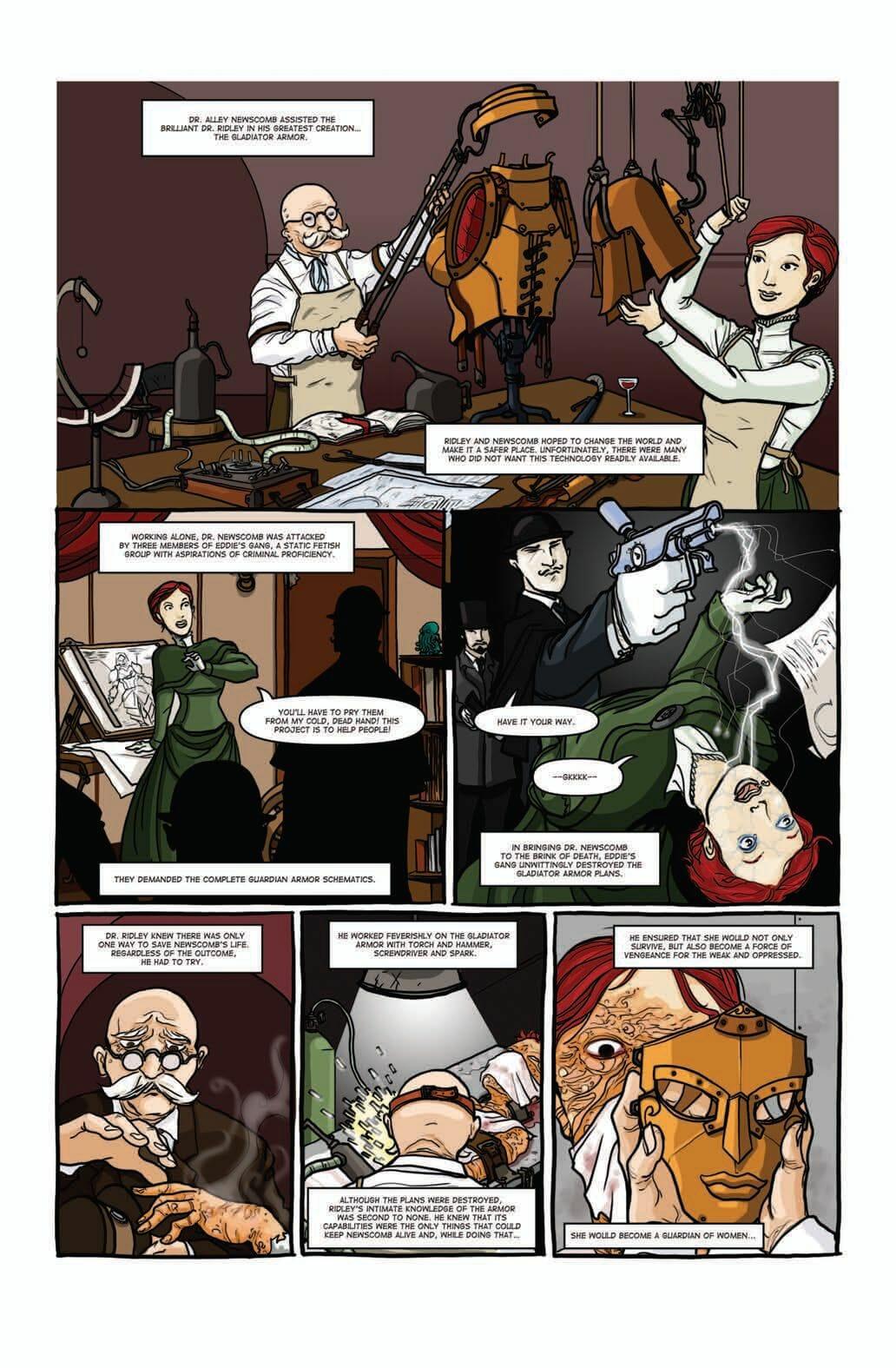 Steampunk Originals 1-2