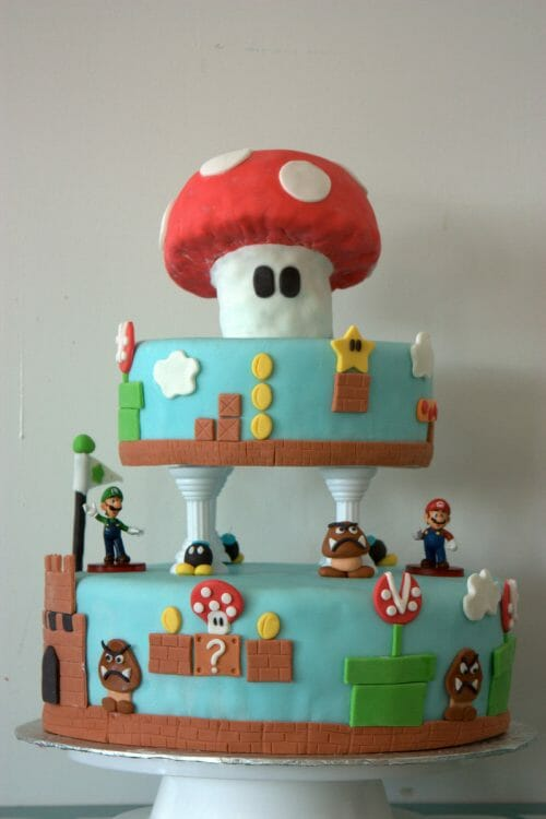 mario-shroom-cake