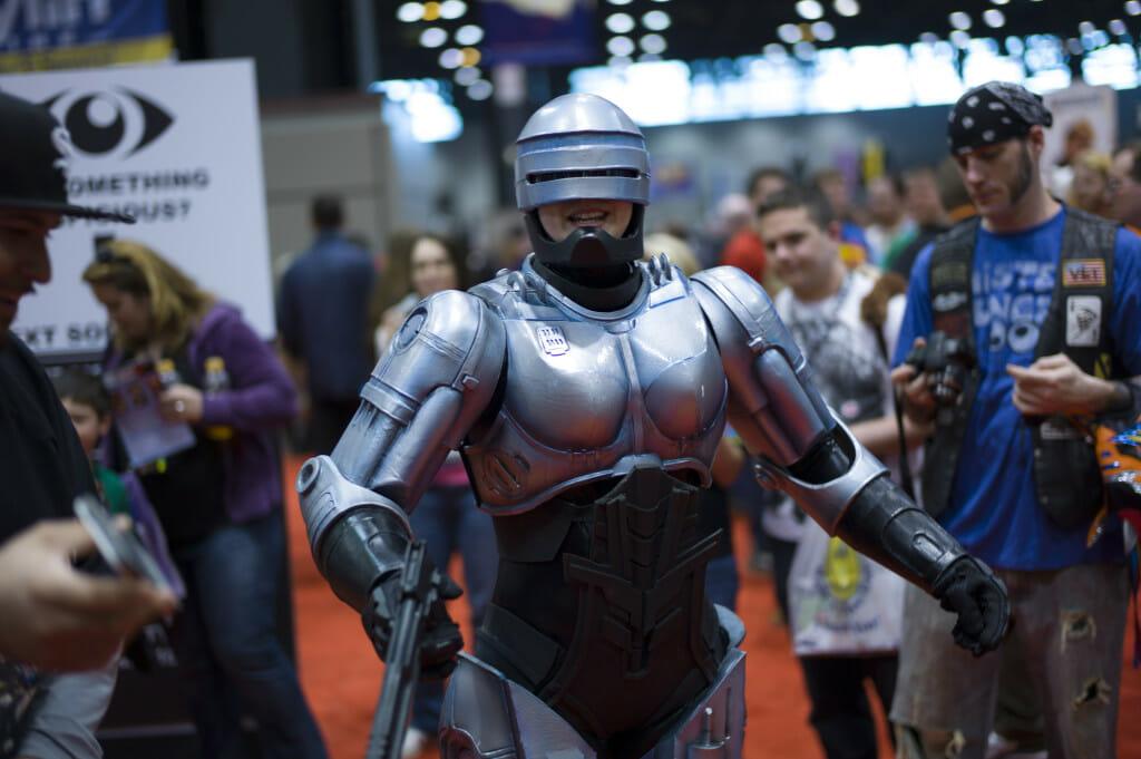 robocop cosplay 2