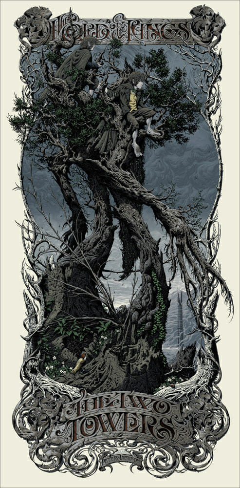 Aaron Horkey The Two Towers 1