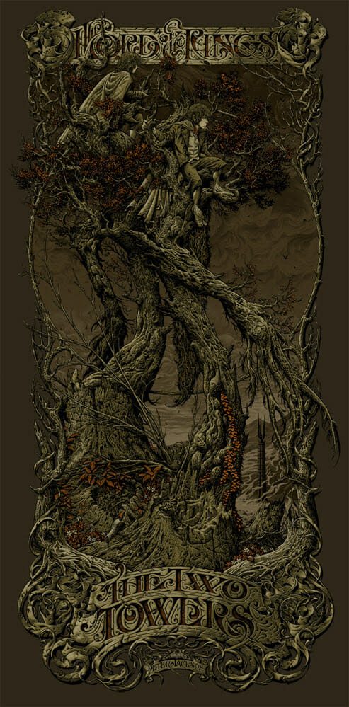 Aaron Horkey The Two Towers 2