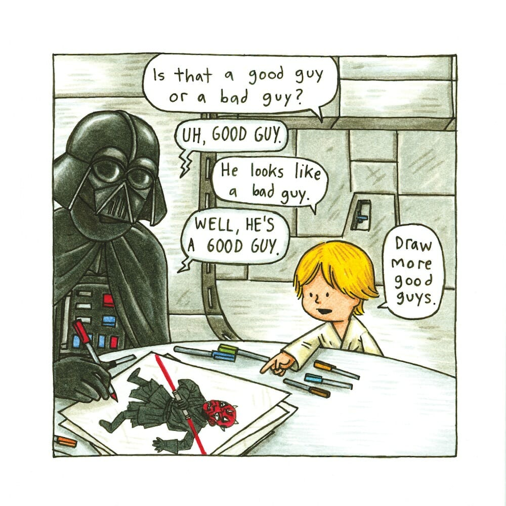 Darth Vader and Son 3