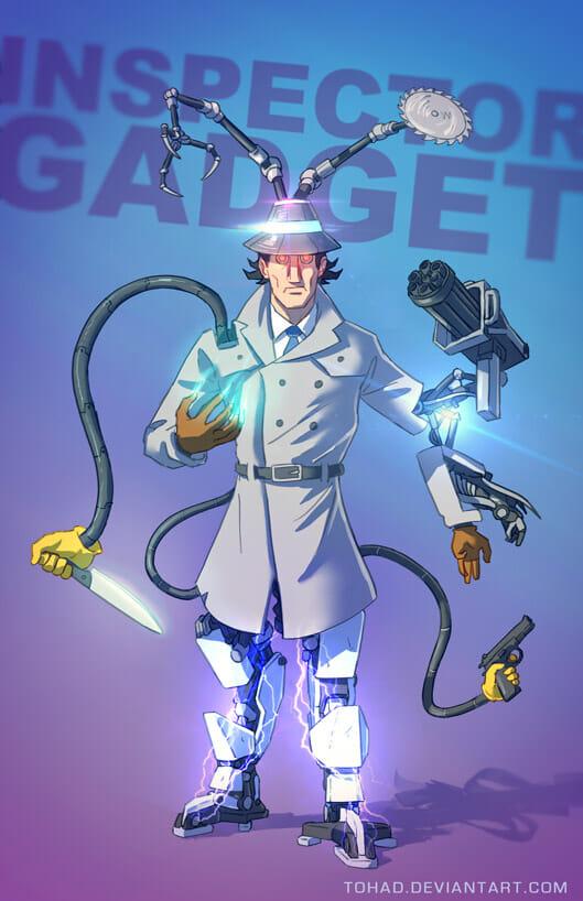 Sylvain Sarrailh - Inspector Gadget