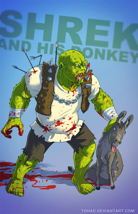 Sylvain Sarrailh - Shrek