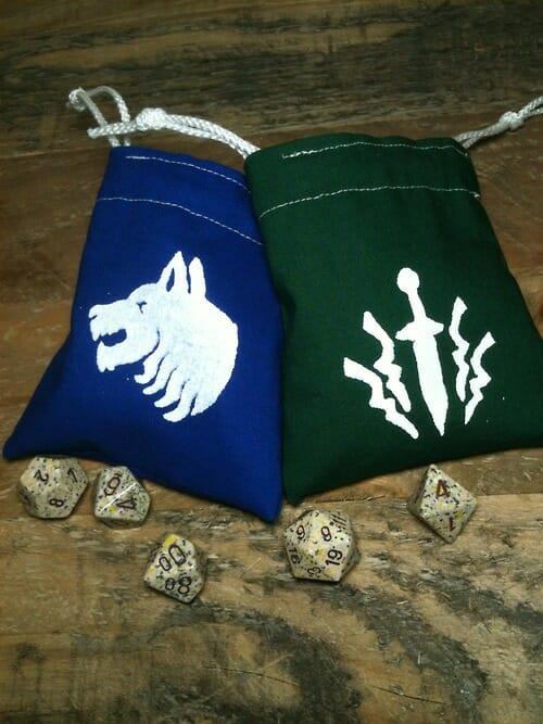 custom total war dice bags