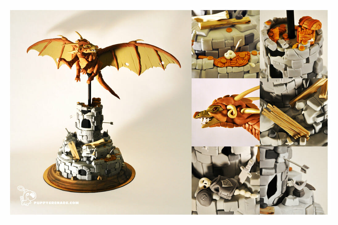 dragon_tower_cake_by_puppygrenade-d5vgcmt