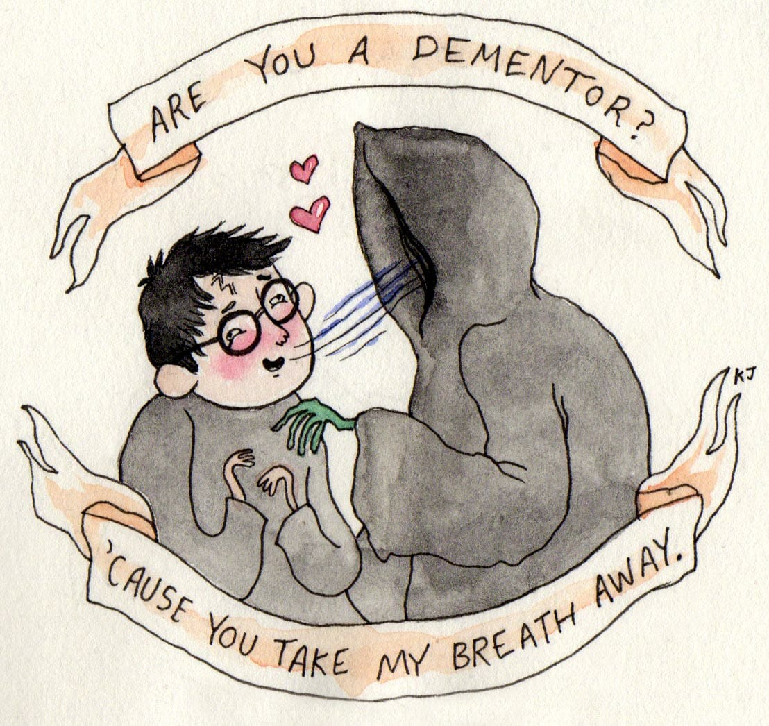 Harry Potter valentines day 0