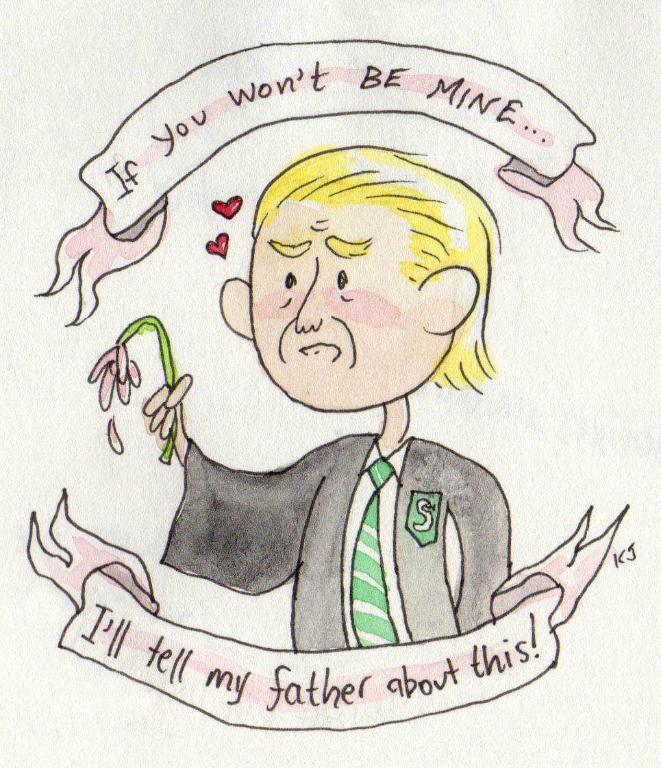 Harry Potter valentines day 3