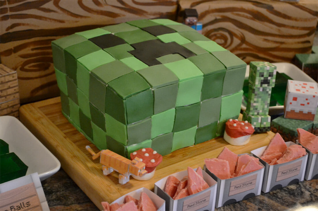 Minecraft Cake 3