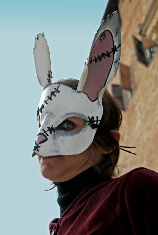 Pagan bunny mask