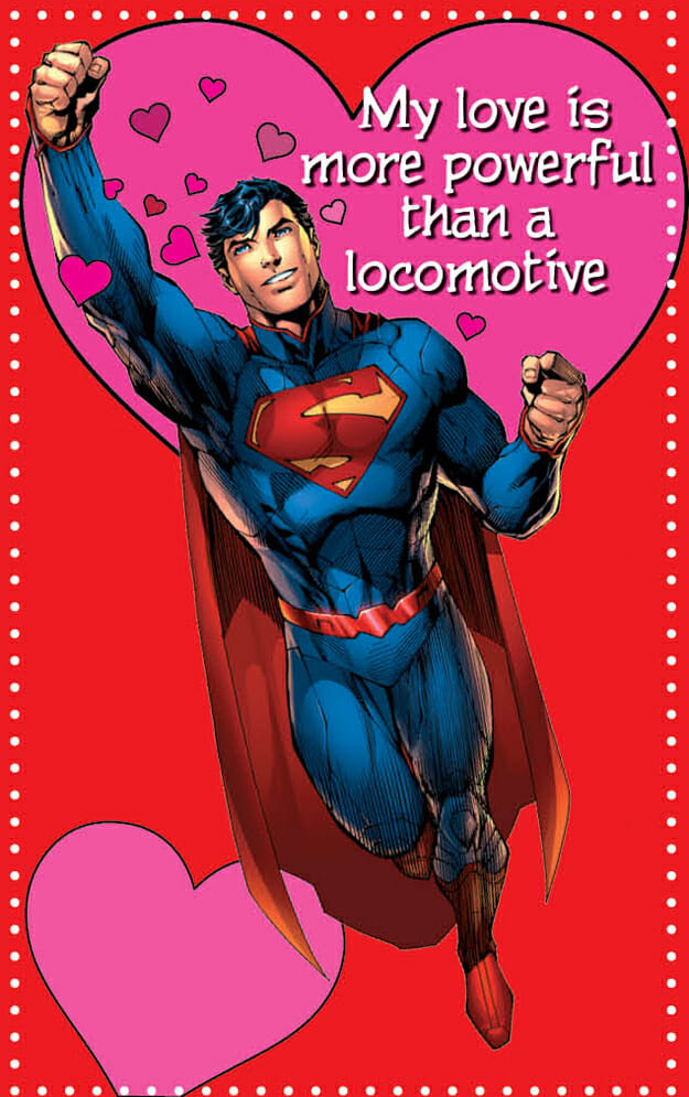 my love is more powerful than a locomotive