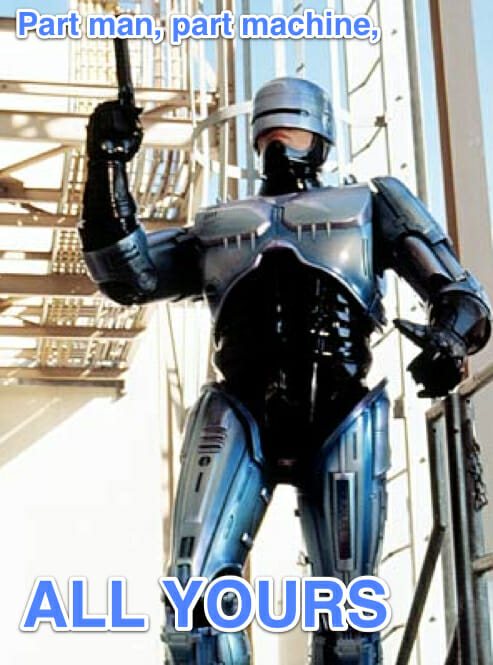 robocop all yours