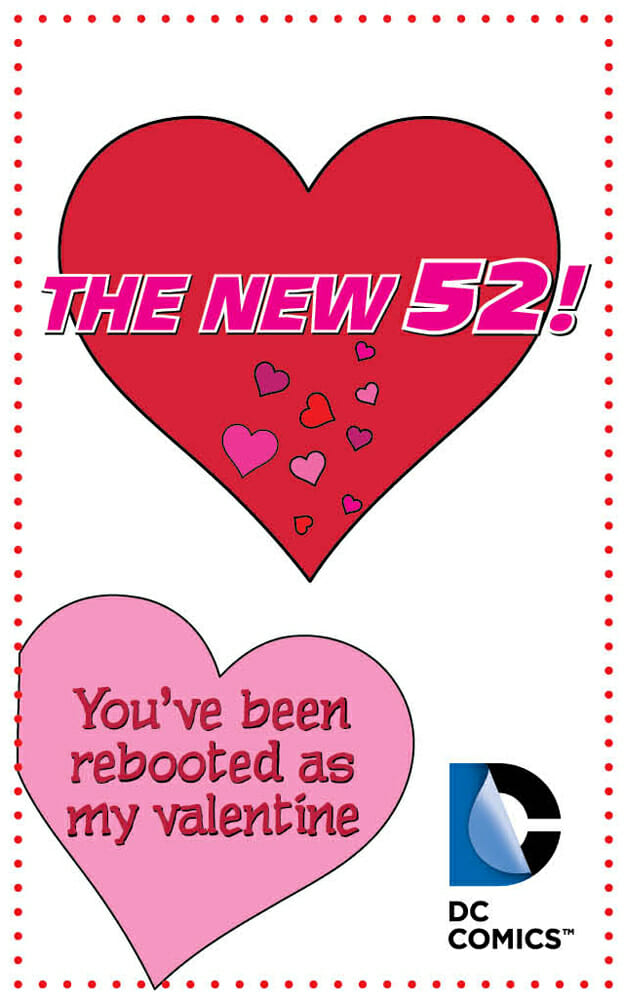 z Youve been rebooted as my Valentine
