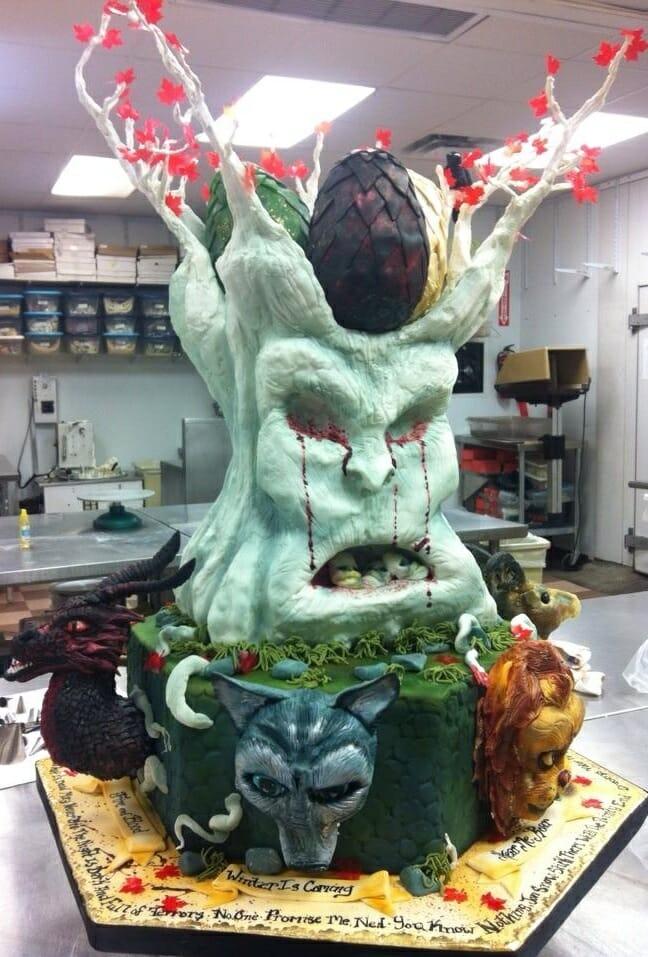 Game of Thrones King Cake 1