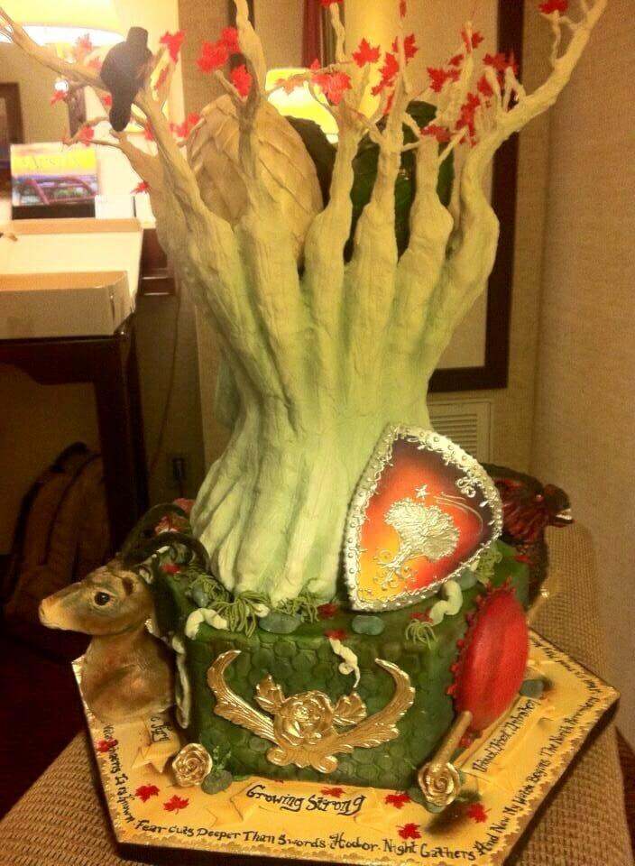 Game of Thrones King Cake 3