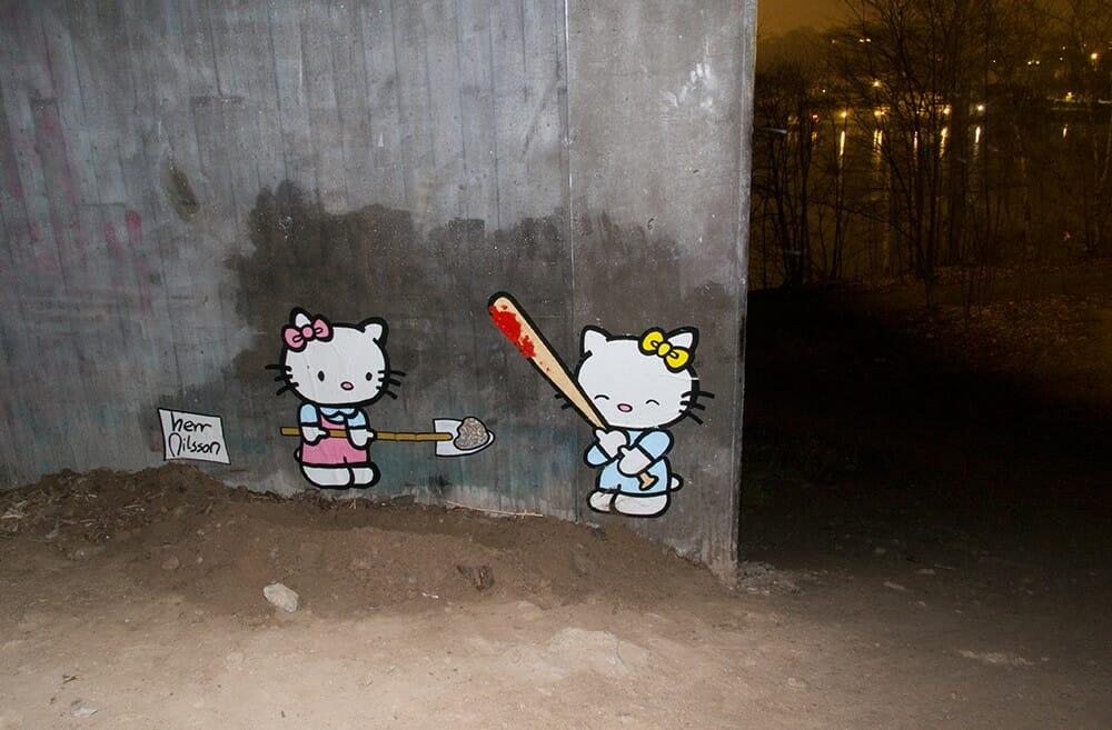 Hello Kitty Herr Nilsson