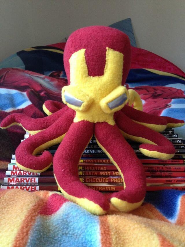 Iron Man octopus 1